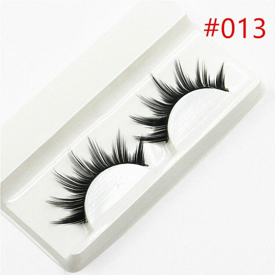 2018 New 1 Pair Sell 3D False Eyelashes Korea Natural -8693