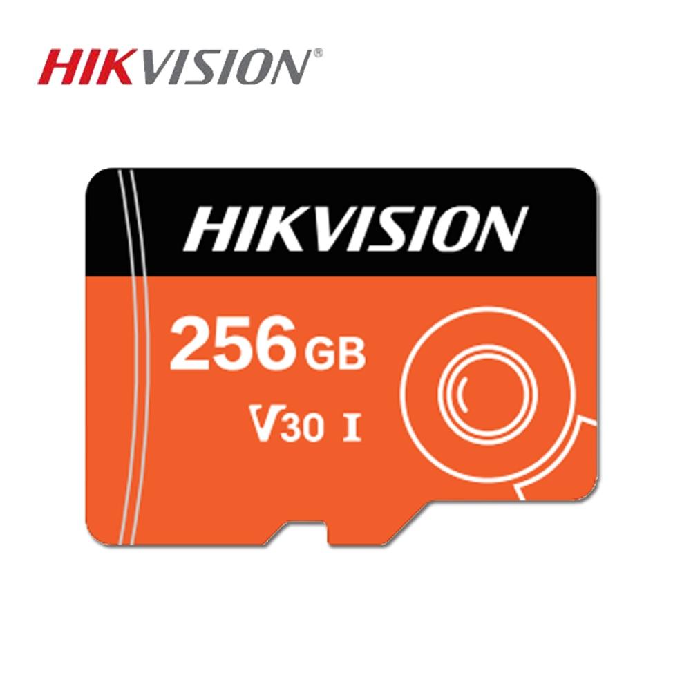 HIKVISION Cartão SD cartão de Memória 256GB 128GB GB v30 32 Profissional para cartao de memoria de vigilância Telefone Inteligente flash sd