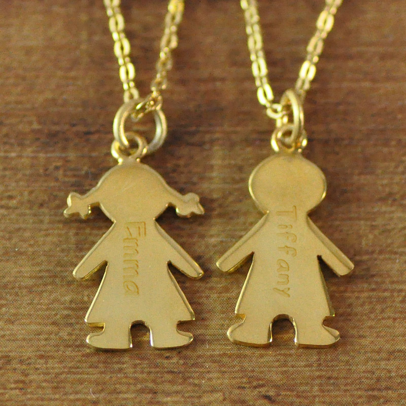 Gold color mothers necklace with engraved children charms baby gold color mothers necklace with engraved children charms baby necklace in pendant necklaces from jewelry accessories on aliexpress alibaba group mozeypictures Image collections