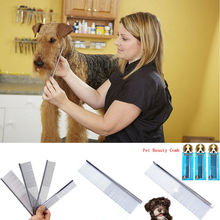 2019 Pet Dog Grooming Comb for Grooming Comb For Shaggy Dogs Barber Grooming Dog Cat Combs margaret h bonham dog grooming for dummies