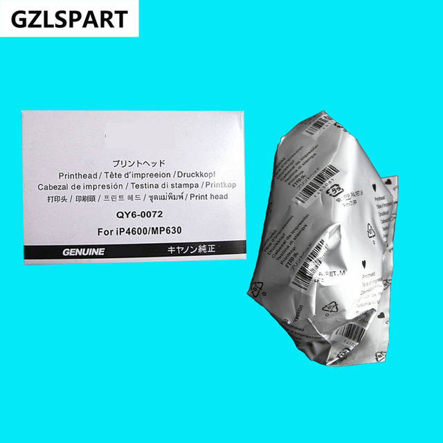 Япония OEM новый QY6-0072-000 QY6-0072 Печатающая Головка Печатающая Головка Головка Принтера для Canon iP4600 iP4680 iP4700 iP4760 MP630 MP640