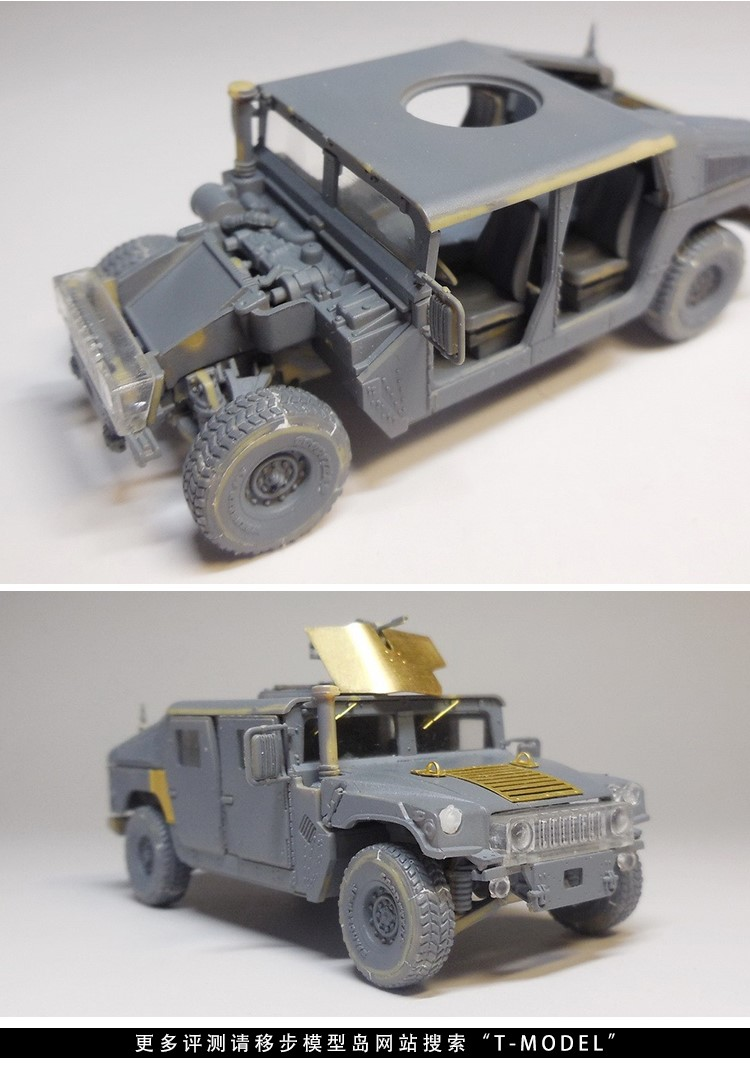 TM7201 Modern American Type M1114 Armored Upgraded Hummer Blocks Kits