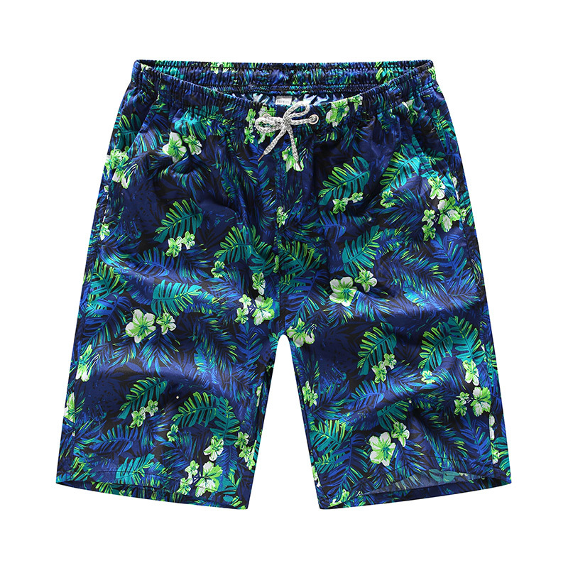 2d6c154692 Tnine Quick Dry Board Shorts Mens Swimming Short Palm tree Print Beach  Swimsuit Man Surf Swim Bathing Wear Sweatpants Boardshort