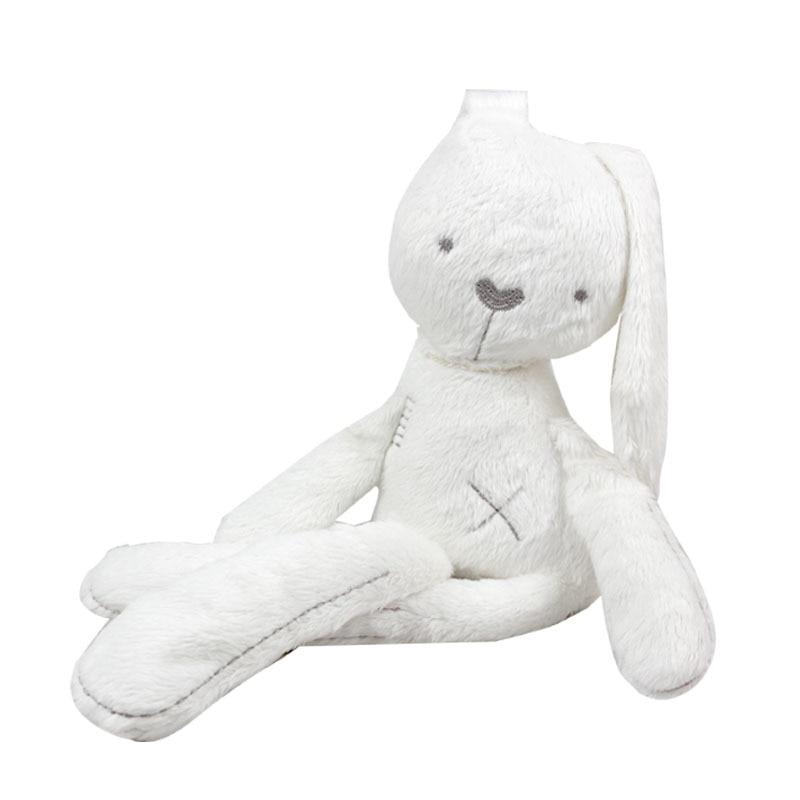 New Arrive Cute Lovely Baby რბილი სათამაშოების სათამაშოები Plush კურდღლის მძინარე მათგანი ბავშვის სავსე და პლუშური ცხოველებისთვის 16.5in