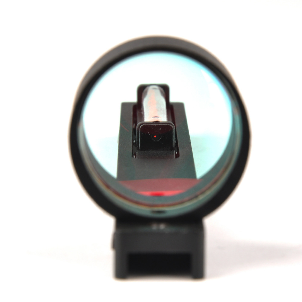 Image 5 - Red Fiber Red Holographic Scope Sight Dot Sight For Shotgun Rib Rail HGun Accessory Hunting-in Riflescopes from Sports & Entertainment