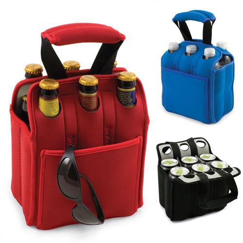 Neoprene Water Bottle Holder Insulated Beer Carrier For