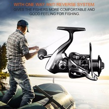 12+1 Ball Bearings Spinning Fishing Reel CNC Aluminium Spool Light Weight Saltwater Freshwater Spinning Reels BrandNew