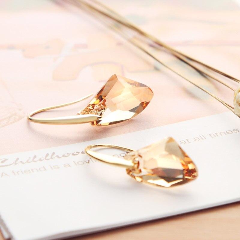 Neoglory Verdha Austriake Crystal Charm Darmle Drop Vathë për Femra - Bizhuteri të modës - Foto 5
