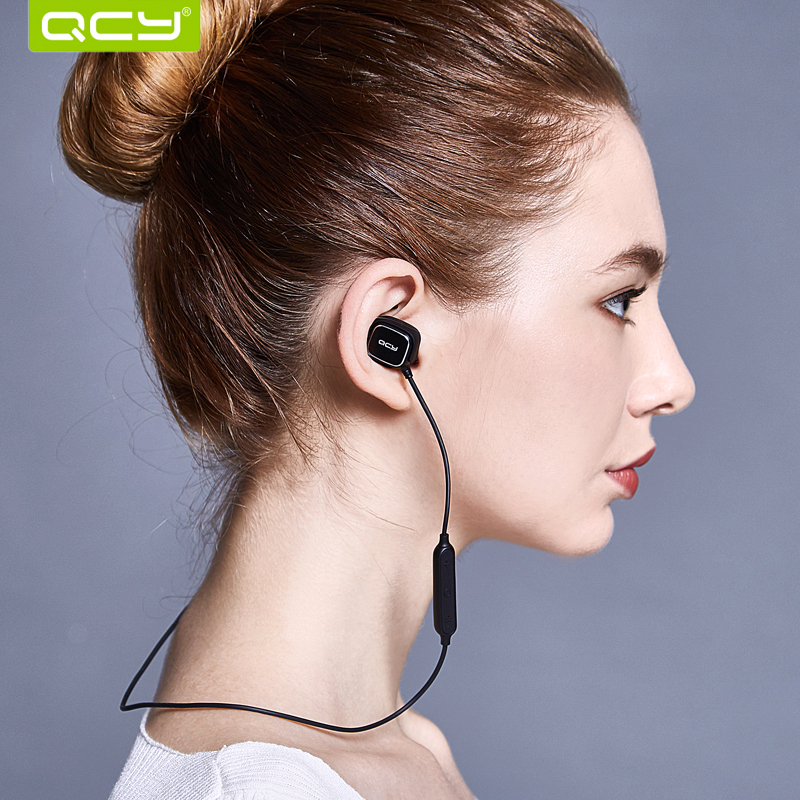 QCY QY12 Magnet Switch Bluetooth Earphones Wireless Headset Sports Earphone Aptx HIFI Earbuds With Mic for Iphone,xiaomi