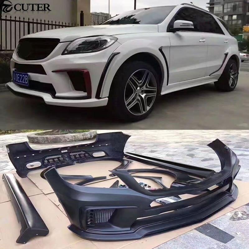 W164 ML350 Car Body Kit FRP Unpainted Front Rear Bumper