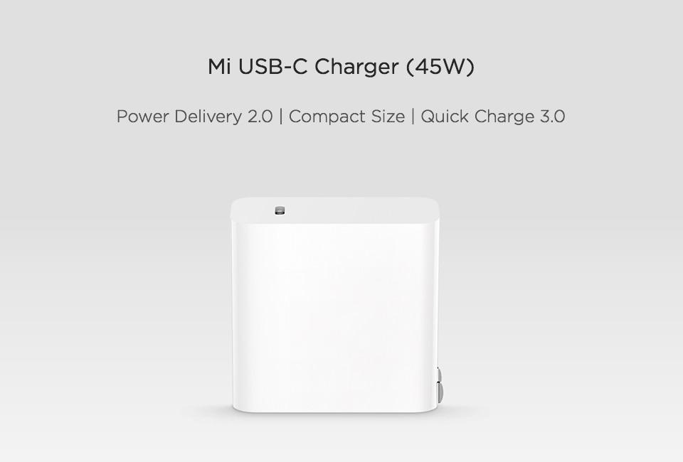 Xiaomi Mi USB-C Charger 45W