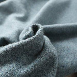Image 4 - 판매 Morandi 색상 겨울 새 브랜드 남자의 o 목 100% 괜 찮 아 요 양모 스웨터 기본 풀 오버 남자 크리스마스 Blusas Masculina