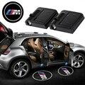 2 шт. Высокое Качество ВОДИТЬ Автомобиль Дверь Логотип Свет автомобиля приветствуется Лампы Auto Лазерный проектор Свет для BMW X4 X5 F150 E30 E36 E46 E39 E90 E60