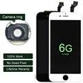 АААА Высокое Качество Мертвых Пикселей Для iPhone 6 Сенсорный ЖК-Экран Замена С Digitizer 4.7 дюйм(ов) Белый Черный