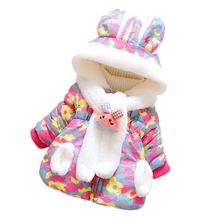Newborn Baby Girls Winter Coat Children's Parkas Winter Jackets for Girls Clothing for Girls Jacket Clothes for Baby Girls