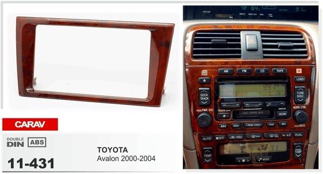 CARAV 11 431 Top quality Car Facia Frames for TOYOTA Avalon 2000 ...