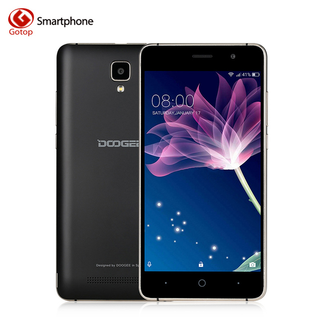 Original Doogee X10 MT6570 Dual Core Smartphone 5.0 inch Android 6.0 CellPhone 512M RAM 8G ROM 3360 battery 5.0MP Mobile Phone