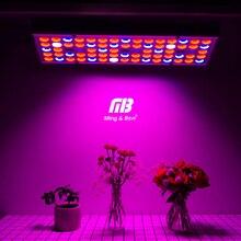 Fitolamp Full Spectrum 25W 45W oświetlenie LED do uprawy 85 265V lampy UV IR Panel roślin rosną światła 75 144leds dla szklarni rośliny doniczkowe