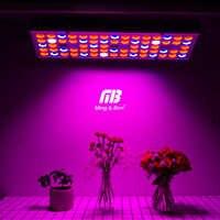 Fitolamp spectre complet 25W 45W LED lumière de croissance 85-265V UV IR lampes panneau plante de croissance lumière 75 144 LED s pour les plantes d'intérieur de serre