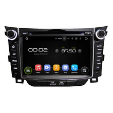 Fit for hyundai I30 2011-2014 android 7.1.1 system HD 1024*600 car dvd player gps navigation radio 3G wifi dvr free map camera