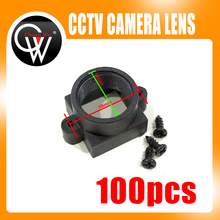 100PCS CCTV Camera board Lens CCD Lens Mount for M12 x 0.5 (Screw hole distance 18mm)