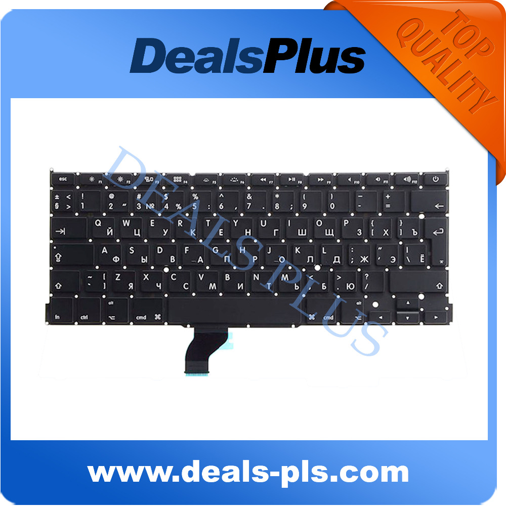 NEW A1502 Russian Keyboard For Macbook Pro Retina 13 A1502 Russian keyboard 2013 2014 2015 Year image