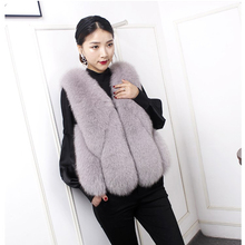 Real Fox Fur Coat Female Winter Natural Jacket Models Authentic Leather Skin Authentic02