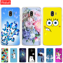купить TPU Phone Cases for samsung J2 2018 case Slicone Fashion back cover for Samsung Galaxy j2 2018 SM-J250F case New design онлайн