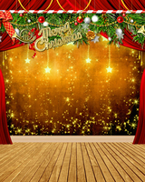 Customize photography backdrops Christmas party stage vinyl digital cloth for photo studio portrait background L 855