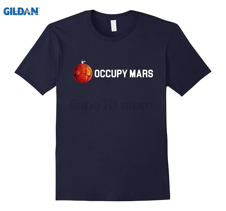 GILDAN Occupy Mars Shirt Mars Astronaut T Shirt Womens T-shirt ...