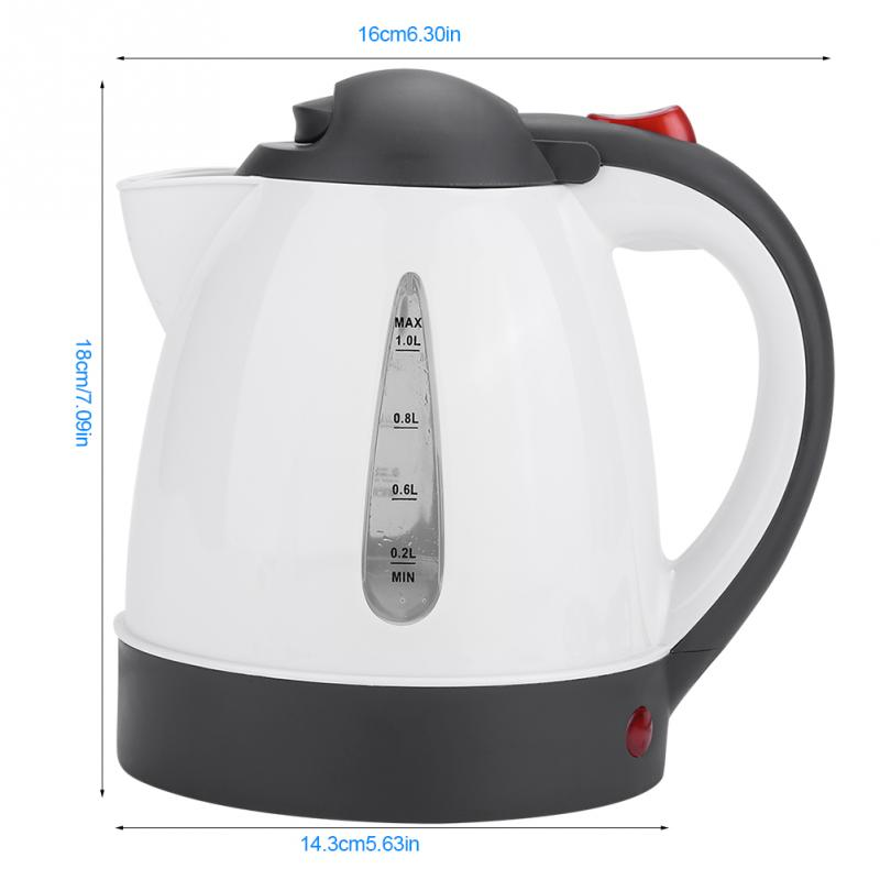 Image 2 - 1000ml 24V Car Travel Auto Electric In Car Kettle Travel Heating Water Bottle-in Electric Kettles from Home Appliances