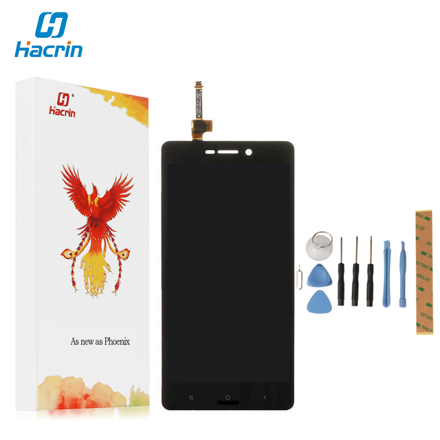 Hacrin For Xiaomi Redmi 3S LCD Display+Touch Screen New Arrived Panel Replacement For Xiaomi Redmi 3S Pro Prime 1280X720 HD 5.0