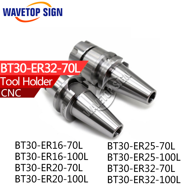 tool holder BT30-ER16-70L BT30-ER25-70L CNC router machine automatic tool change change the knife automatically