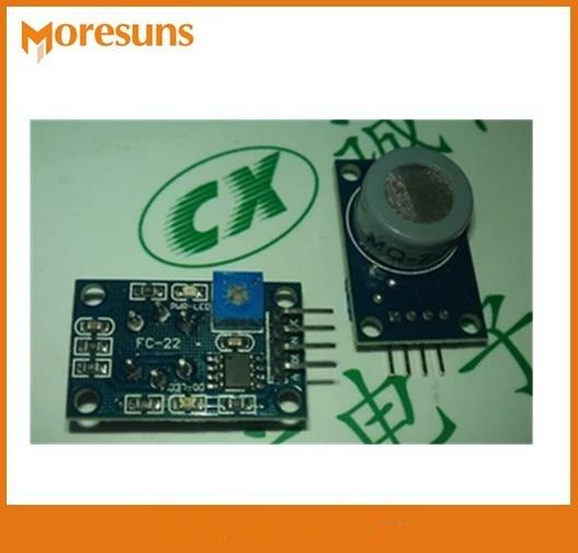 Fast Free ship 10pcs/lot New MQ-7 carbon monoxide gas sensor detection alarm module CO sensor module