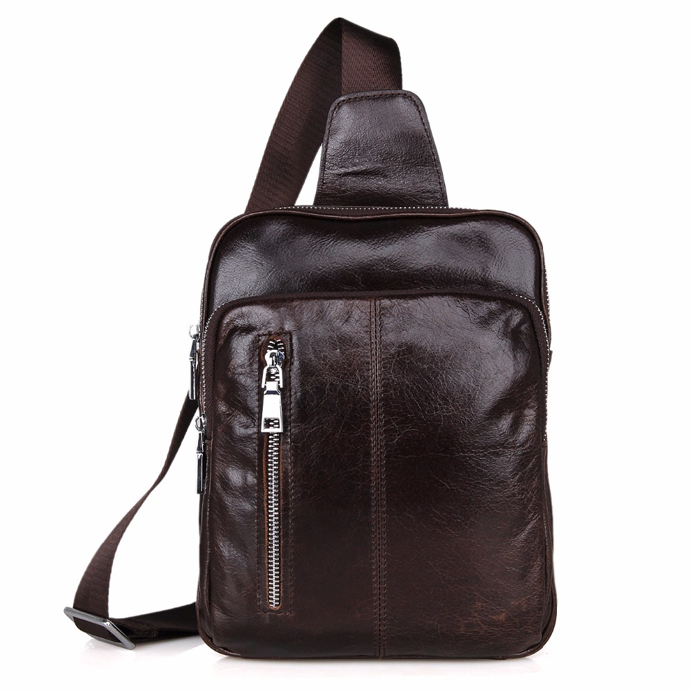 New Charming Genuine Leather Backpack For Girls and Boys School travel Bags Student School Bags 7215C