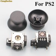 цена на 2pcs 2 sets Replacement metal 3D joystick cap analog Stick cap for XBOX 360 controller For PS2 Controller 3D Analog Joystick