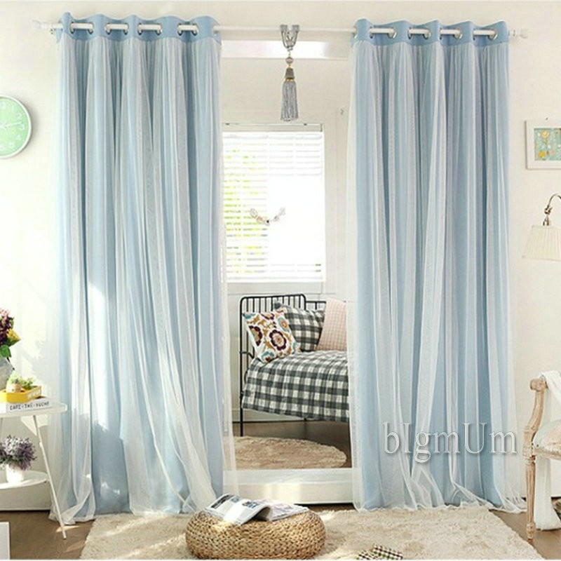 Popular New Arrival Wedding Lace Curtains Solid Blackout princess Curtains Elegant Fairy Curtains Ready Made Custom made Free Shipping in Curtains from Home Modern - Inspirational ready made curtains Inspirational