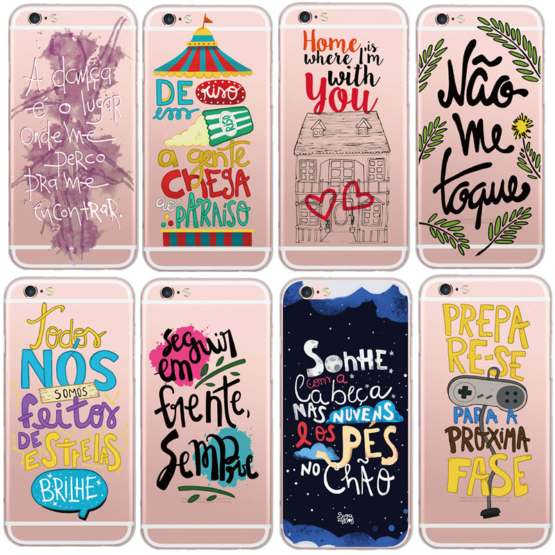 Buy newest soft tpu portugal french words for Cell phone cover design ideas