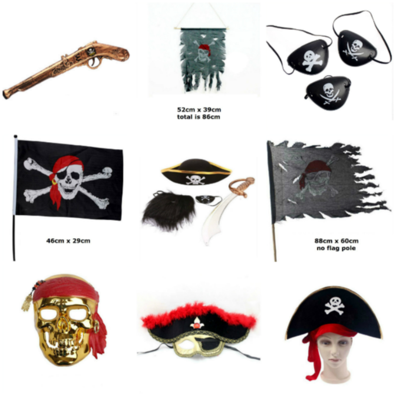 Anime Cosplay for Pirate Flag Eye Patch Iconic Costumes for Adult Pirates of Caribbean Vestidos in Halloween Carnaval Party