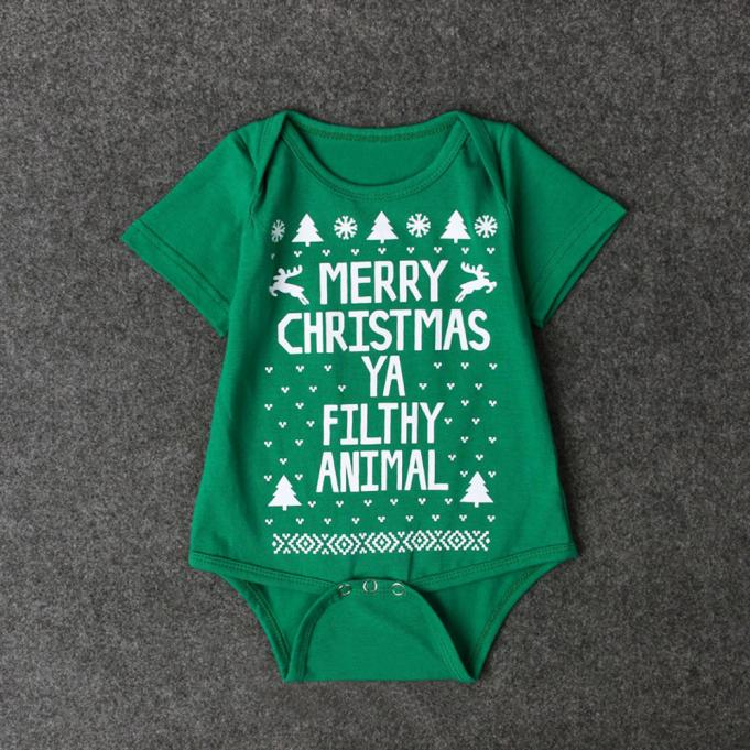 HTB18Phxhr9YBuNjy0Fgq6AxcXXa3 - New 2016 new born baby clothes  Boys Girls Printed Christmas Romper Jumpsuit Xmas winter romper ld ourlove bebes