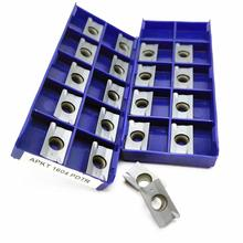цена на Tungsten Carbide APKT1604 PDTR LT30 CNC Blade Carbide Milling Insert for Indexable Lathe Tools