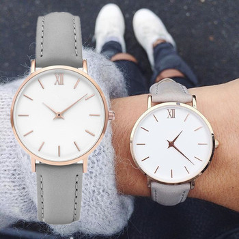 New Fashion Simple Women Watches Ladies Casual Leather Quartz Watch Female Clock Relogio Feminino Montre Femme Zegarek Damski