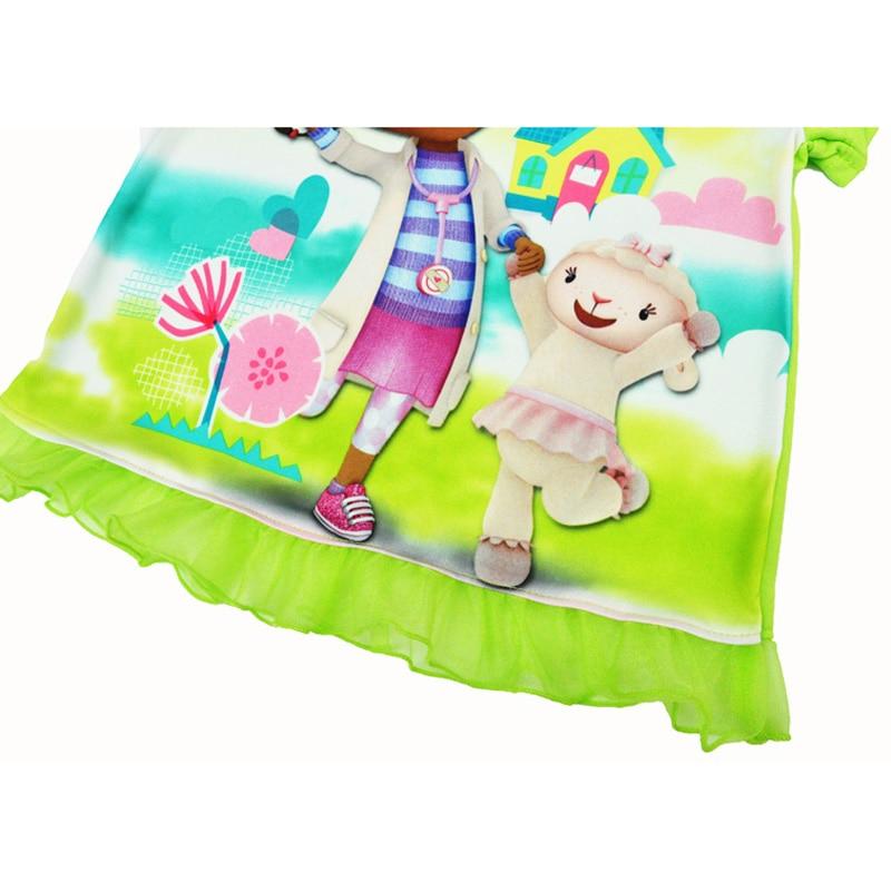 Summer Doc McStuffins Girl Kids T shirt Short-sleeved Printed Cartoon T-shirt Fashion Princess Girl Children Clothing ropa ninos