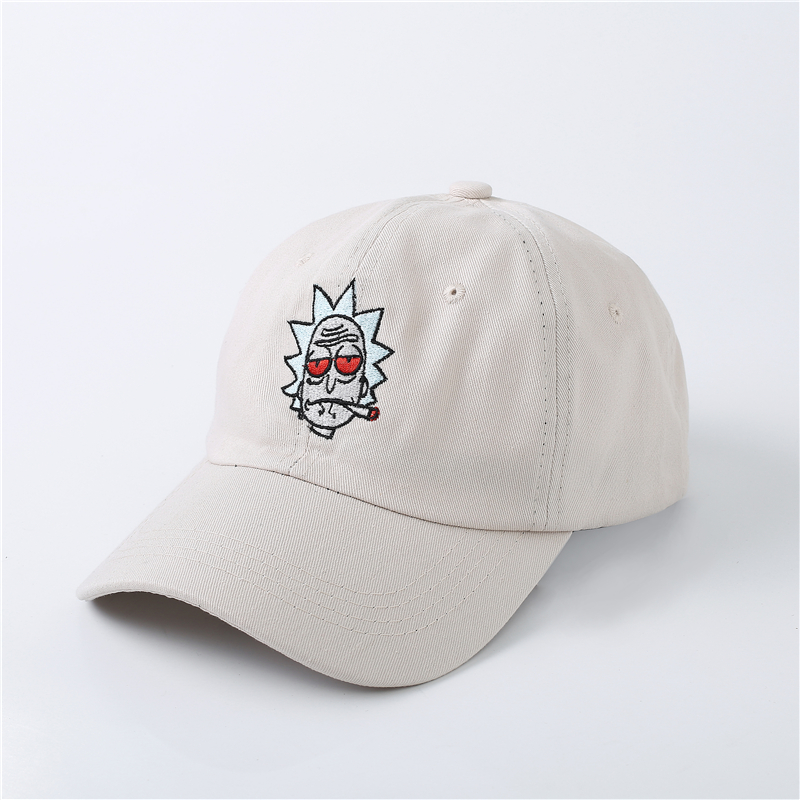 BBS131 New US Animation Rick Caps Dad Hat Rick and Morty Embroidery Hats  Adjustable Casquette Cotton Baseball Cap bone Snapback   BestDealPlus 39ff52886481