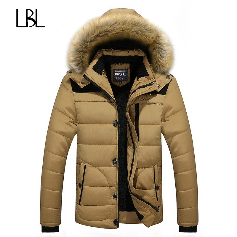 Solids Men Hoodies Fashion Red Duck Brand Down Jacket Men Manteau Homme Winter Coat Hooded Zipper Rib Cuff Winter Jackets Men rib cuff zippered hooded coat