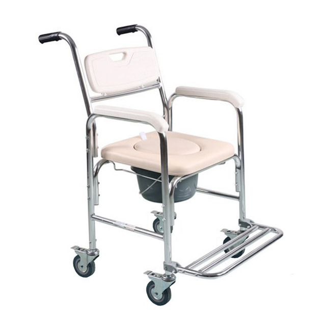 Tcare Multi-function Transport Wheelchair - Can be Used as Shower Chair Padded Toilet  sc 1 st  AliExpress.com & Tcare Multi function Transport Wheelchair Can be Used as Shower ...