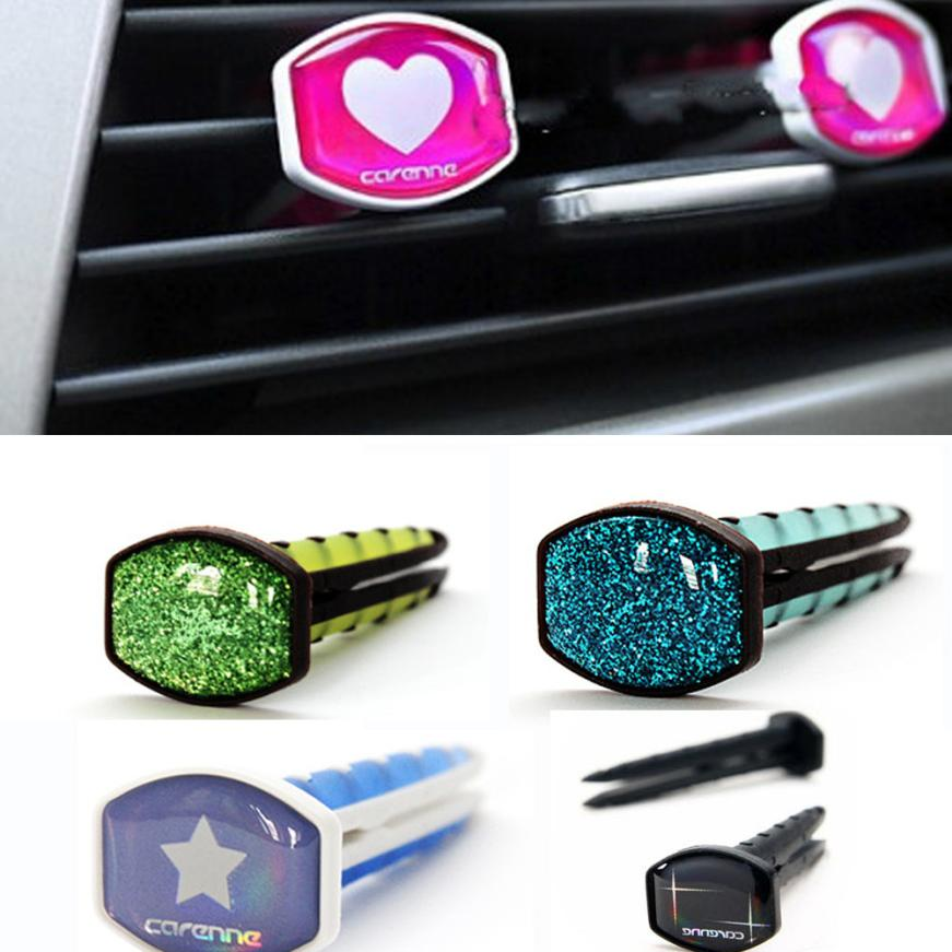 The Best Stainless Car Air Auto Vent Freshener Essential Oil Diffuser Gift Locket Decor Accesorios De Coche #yl5 Air Freshener Interior Accessories
