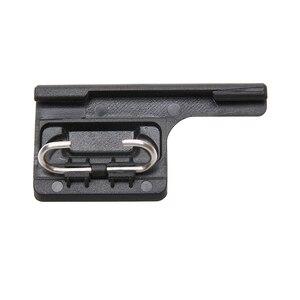 Image 2 - Black Housing Frame Backdoor Clip Lock Buckle Replacement Backdoor Frame for GoPro Hero 5 6 7 camera Accessories