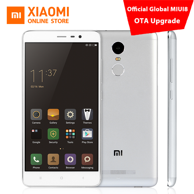 b11276c80522c Original Xiaomi Redmi Note 3 Pro mobile phone Official Global Firmware 5.5  Inch FHD 2GB 16GB 64bit Snapdragon 650 16.0MP MIUI8