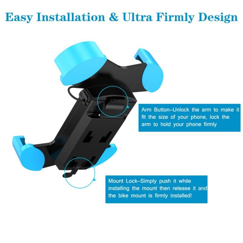 Universal Bike Phone Holder 3